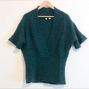 Anthro / Moth Kimono Sleeve Wool Blend V-Neck